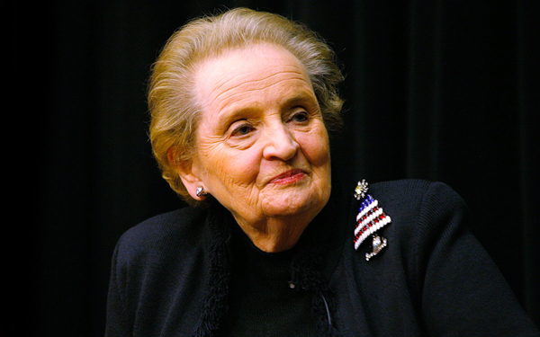 madeleine albright prague society
