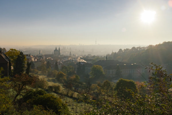View of Prague from Strahov Monastery. photo: Chris Lettner